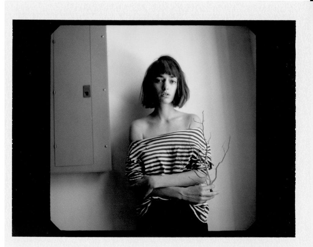 Olya, Polaroid, New York, 2016